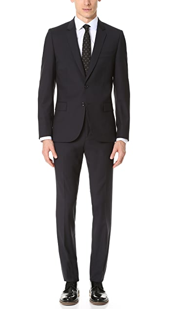 PS Paul Smith Mid Fit Wool Nested Suit