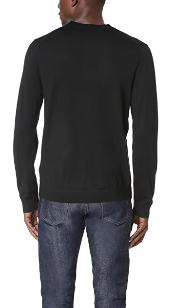 PS by Paul Smith Merino Wool Crew Neck Sweater