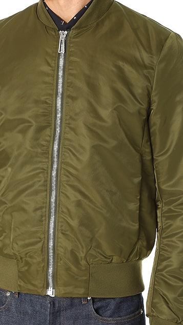 PS Paul Smith Nylon Bomber Jacket