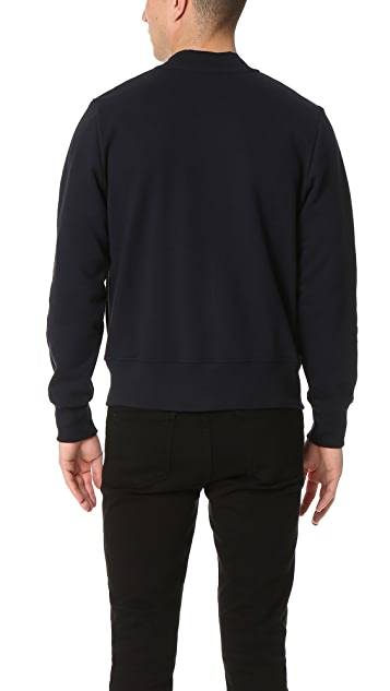 PS Paul Smith Knit Bomber Jacket