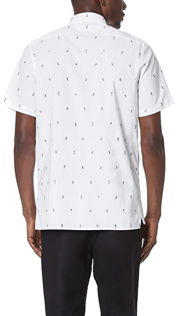 PS by Paul Smith Dancing Dice Print Shirt