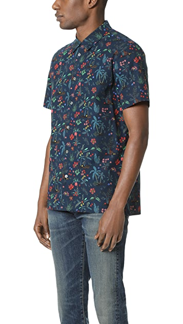 PS Paul Smith Floral Shirt