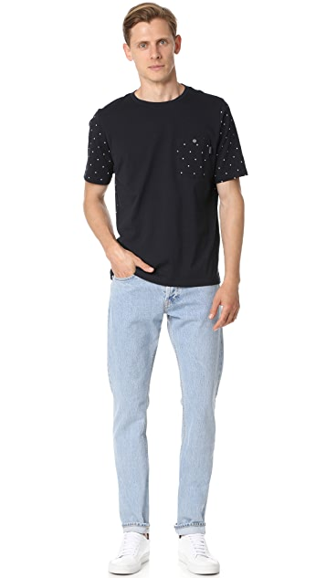 PS by Paul Smith Polka Print Tee