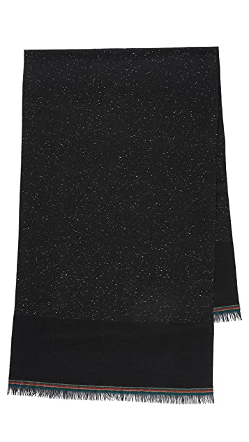 PS Paul Smith Nepped Block Scarf