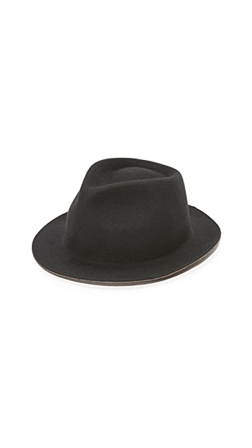 PS Paul Smith Melange Duo Tone Trilby