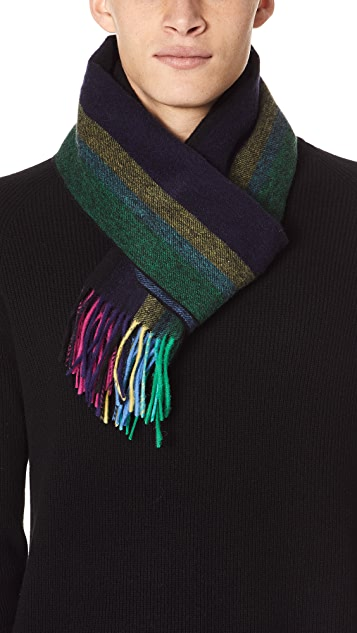 PS Paul Smith PS Stripe Scarf