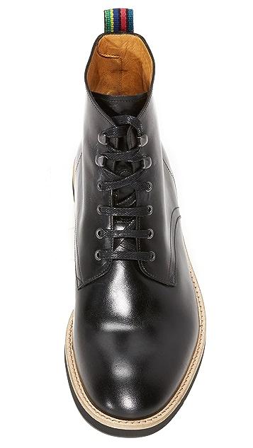 PS Paul Smith Hamilton Leather Boots