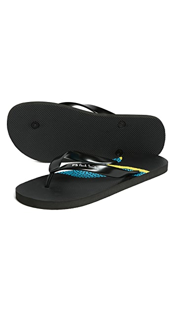 PS Paul Smith Discflop Flip Flops
