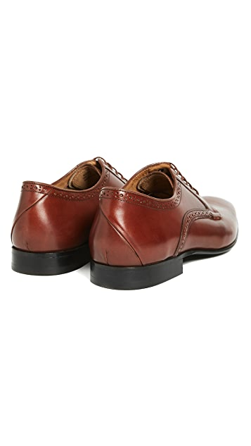PS by Paul Smith Roth Plain Toe Derby Shoes
