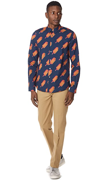 PS by Paul Smith Popsicle Casual Fit Shirt