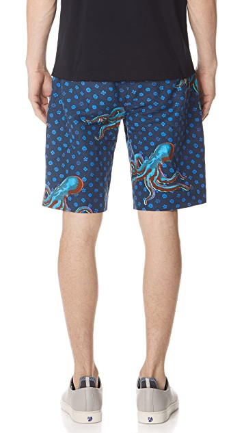 PS by Paul Smith Octopus Sports Shorts