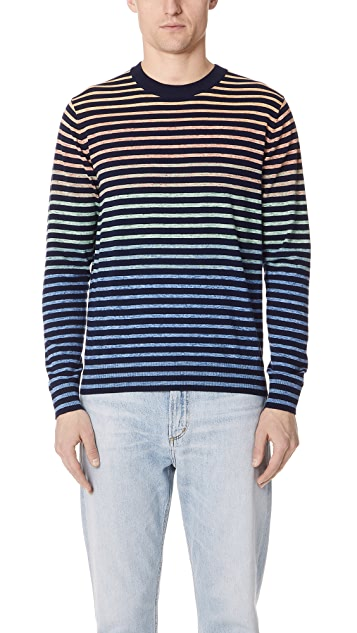PS by Paul Smith Long Sleeve Stripe Top