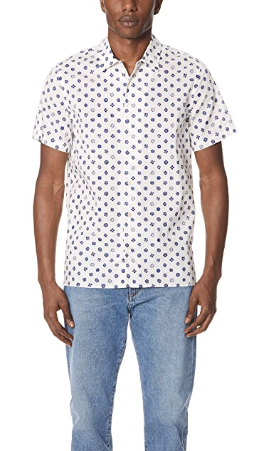 PS by Paul Smith Flower Shirt