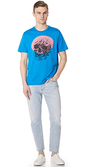 PS by Paul Smith Regular Fit Skull Tee