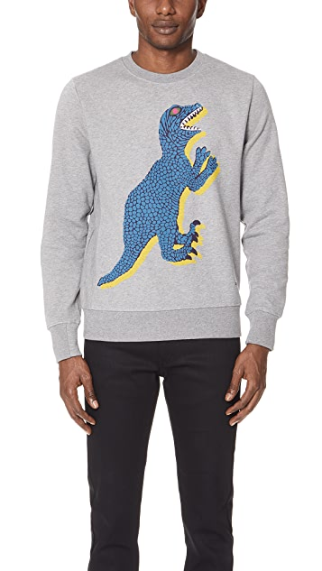PS Paul Smith Long Sleeve Dino Sweatshirt