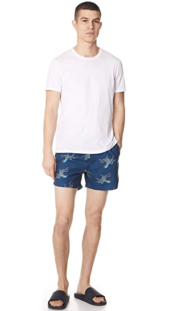 PS by Paul Smith Octopus Swim Trunks