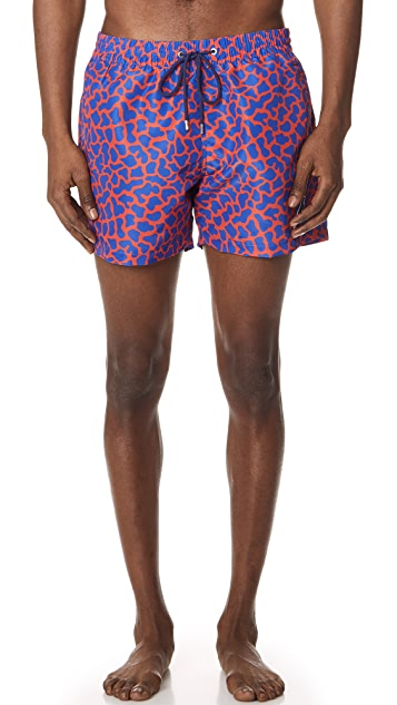 PS Paul Smith Classic Dino Swim Shorts