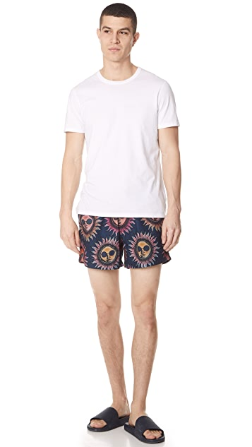 PS by Paul Smith Classic Sun Patch Pocket Swim Shorts
