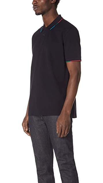 PS Paul Smith Stripe Polo Shirt