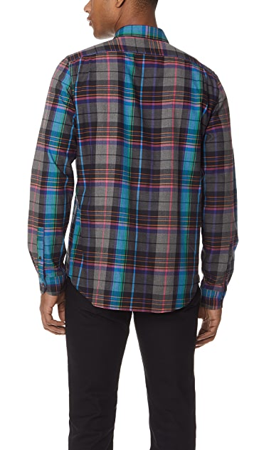 PS by Paul Smith Plaid Tailored Fit Shirt