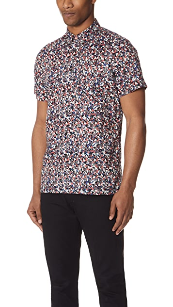 PS by Paul Smith Floral Shirt