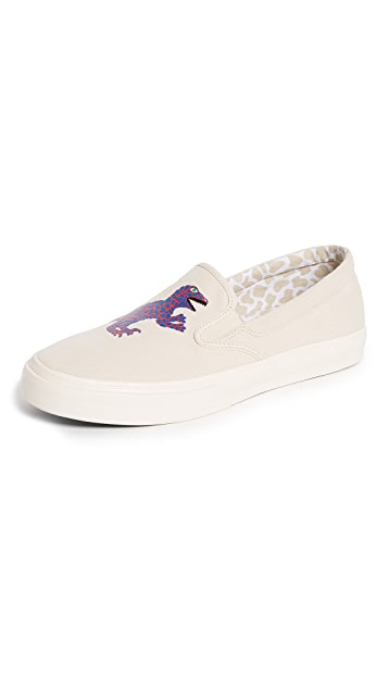 PS Paul Smith Clyde Dino Slip Ons