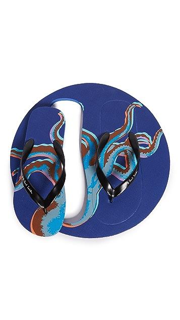 PS Paul Smith Discflop Octopus Sandal