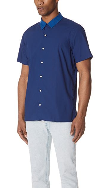 PS by Paul Smith Short Sleeve Casual Shirt