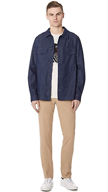 PS by Paul Smith Casual Fit Shirt with Pocket