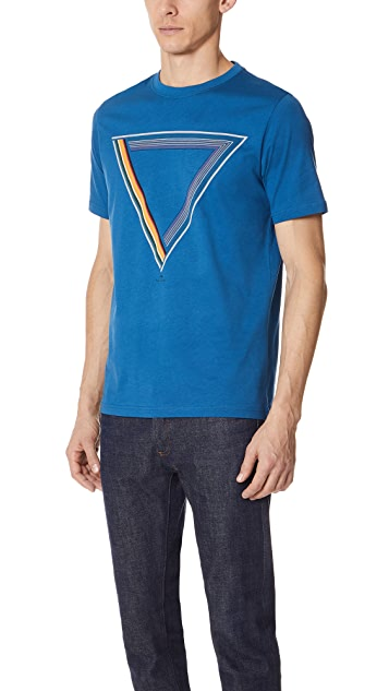 PS by Paul Smith Regular Fit Triangle Print Shirt