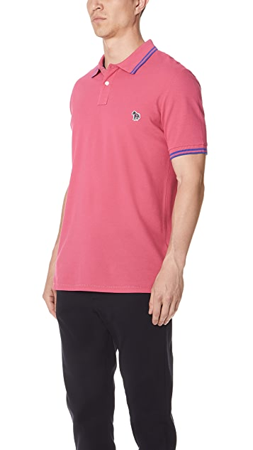 PS Paul Smith Zebra Polo Shirt