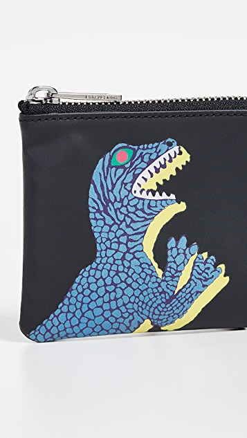 PS Paul Smith Dino Corner Zip Wallet