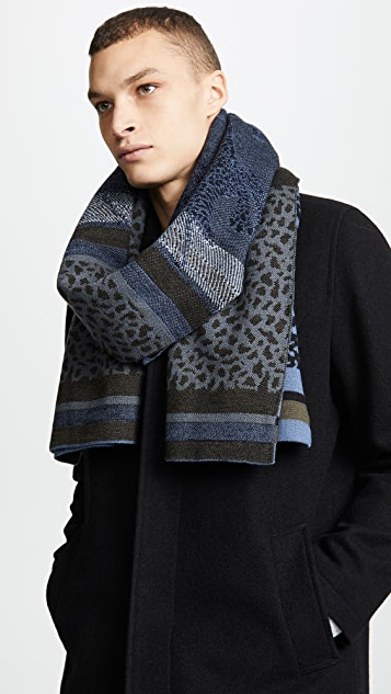 PS Paul Smith Dino Scarf