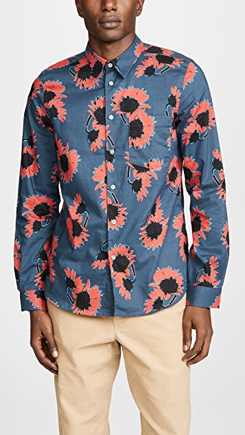 PS by Paul Smith Long Sleeve Tailored Fit Shirt