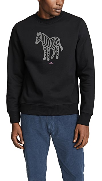 PS Paul Smith Long Sleeve Zebra Sweatshirt