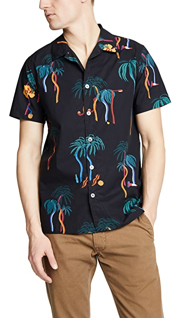 PS Paul Smith Casual Fit Short Sleeve Shirt