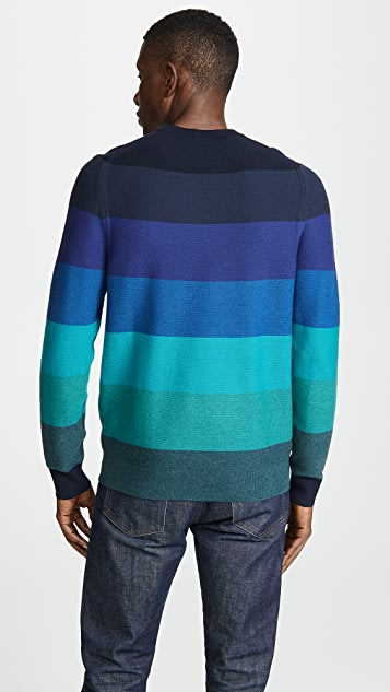 PS Paul Smith Striped Cn Sweater