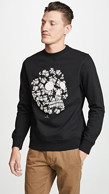PS by Paul Smith Skull Monkey Sweatshirt