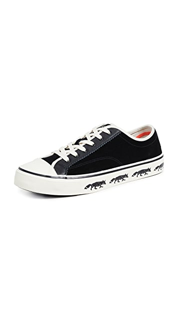 PS by Paul Smith Low Top Fox Sole Sneakers