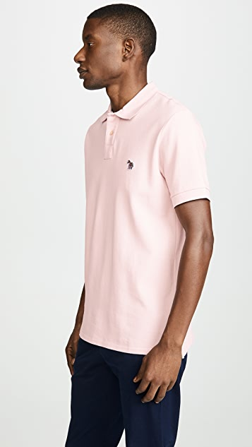 PS Paul Smith Zebra Badge Polo