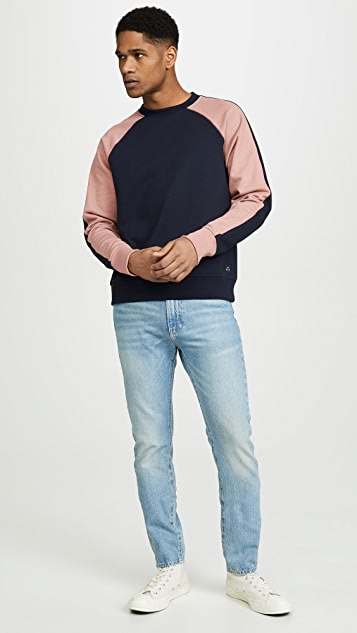 PS Paul Smith Sweatshirt with Contrast Sleeves