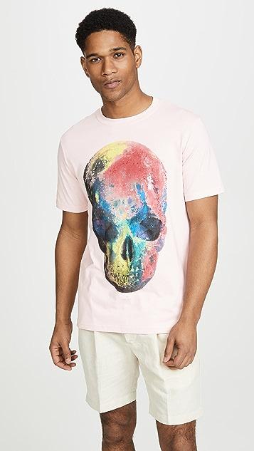 PS Paul Smith Multicolor Skull T-shirt