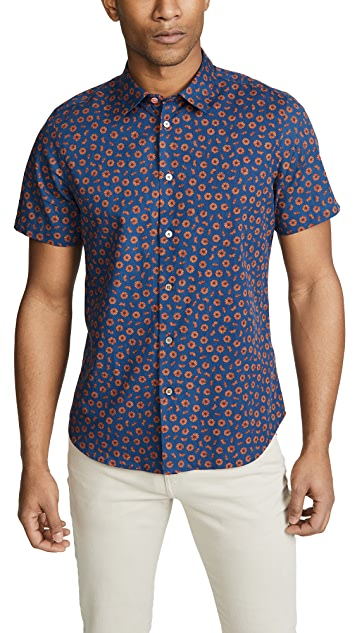 PS Paul Smith Small Floral Button Down Shirt