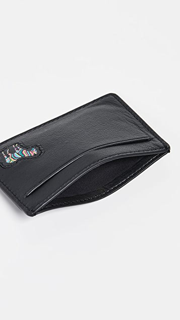 PS Paul Smith PS Zebra Card Holder
