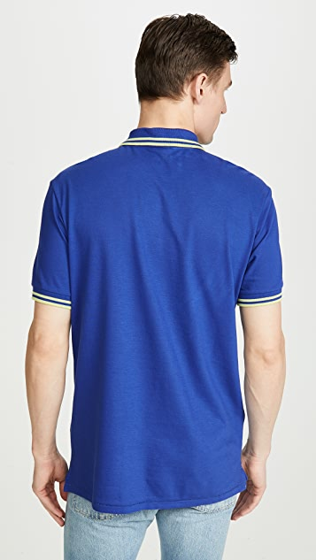 PS Paul Smith Regular Fit Polo with Zebra Patch