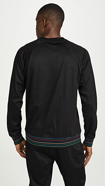 PS Paul Smith Multi Stripe Sweatshirt