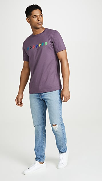 PS Paul Smith Short Sleeve Skull T-Shirt