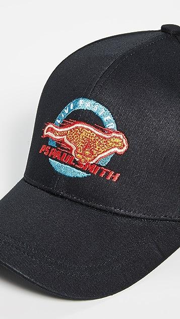 PS Paul Smith Cheetah Baseball Cap