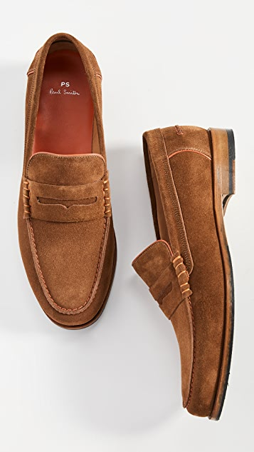 PS Paul Smith Teddy Suede Loafers