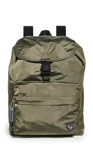 PS Paul Smith Camo Zebra Backpack